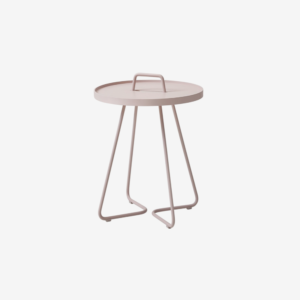 On-the-move sidebord, lille rose