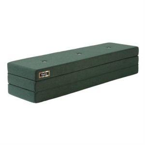 By KlipKlap 3 Fold Madras XL Dyb Grøn med lys grøn knap