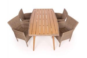 Mala Cebu Havemøbelsæt - 90x160 cm