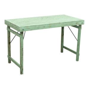 SJÄLSÖ NORDIC rektangulær havebord - grøn genbrugstræ (120x60)