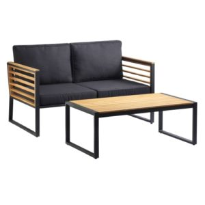 Loungesæt inkl. hynder - Laura - Natur