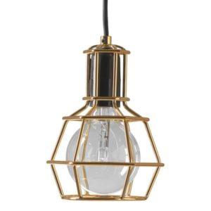 Design House Stockholm Work Lamp Guld Pendel