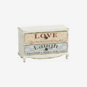 Kommode - Laugh & Love - 31x46x22 cm