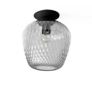 &Tradition Blown SW5 Loftlampe Sølv Glas