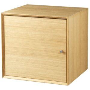 Living&more skab - The Box - 37 x 39,4 x 34 cm - Eg