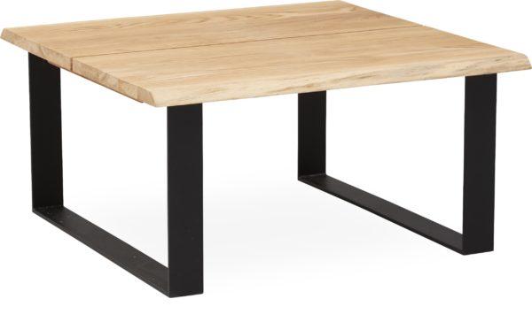 sofabord med kraftige ben i metal