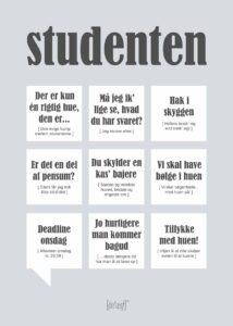Studenten plakat