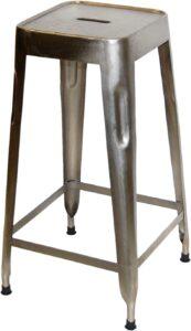 TRADEMARK LIVING barskammel - shiny jern