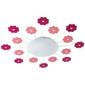 EGLO loft- og væglampe - VIKI 1 - Pink blomster