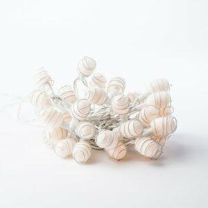 Illumilight lyskæde - Cocoons - Hvid
