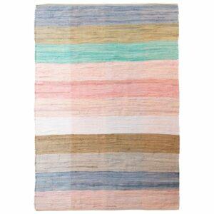 Living&more gulvtæppe - Chindi - Pastelfarver