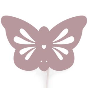 Roommate børnelampe - Butterfly - Violet