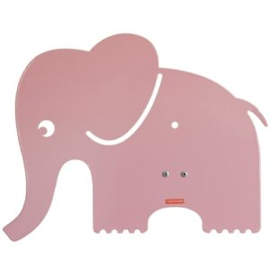 Roommate børnelampe - Elefant Silhouette - Pastel rosa