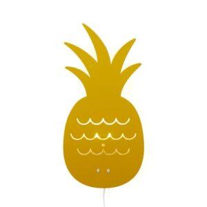 Roommate væglampe - Pineapple - Gul
