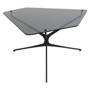 KARE DESIGN Dark Space sofabord - grå glas og stål (68x70)