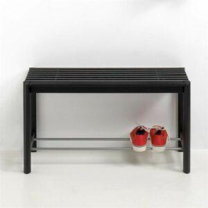 Thomsen Furniture Bænk - Egetræ - Sortlakeret